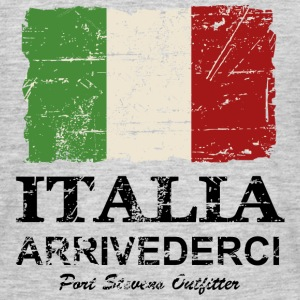 Italy Flag - Vintage Look T-Shirts - Männer T-Shirt