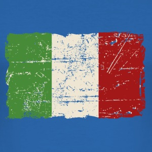 Italy Flag - Vintage Look T-shirts - Herre Slim Fit T-Shirt