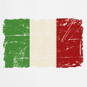 Italy Flag - Vintage Look  Aprons - Cooking Apron