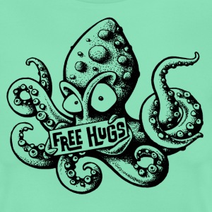 Deep mint free hugs T-Shirts - Women's T-Shirt