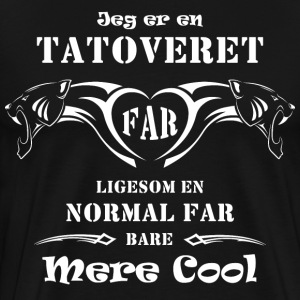 Tatoveret Far 2015 T-shirts - Herre premium T-shirt