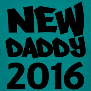 New Daddy 2016 T-shirts - Mannen T-shirt