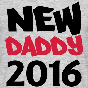 New Daddy 2016 T-shirts - T-shirt herr