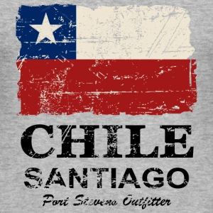Chile Flag - Vintage Look Tee shirts - Tee shirt près du corps Homme