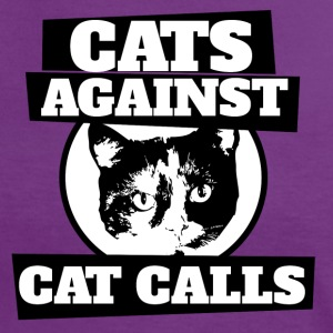 Cats against catcalls cat calling - Women's Ringer T-Shirt