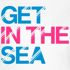 get_in_the_sea_01 T-Shirts - Women's T-Shirt