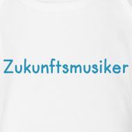 Motiv ~ Zukunftsmusiker (Baby-Body) blau