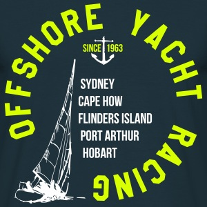 OFFSHORE YACHT RACING T-Shirts - Men's T-Shirt