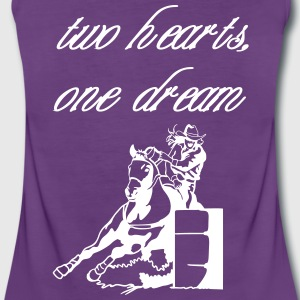 two hearts one dream 1 Tops - Frauen Premium Tank Top