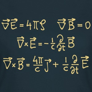 Maxwell Equations (cgs) T-Shirts - Frauen T-Shirt