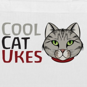 Cool Cat Ukes Tote bag - Tote Bag