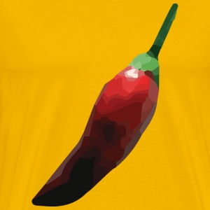 faceted chili T-Shirts - Männer Premium T-Shirt