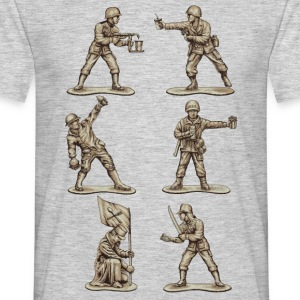 FASTFOOD SOLDIERS - Men's T-Shirt