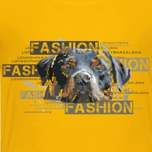 fashion-rottweiler-dog-an T-Shirts - Kinder Premium T-Shirt
