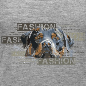 fashion-rottweiler-dog-an Top - Canotta premium da donna