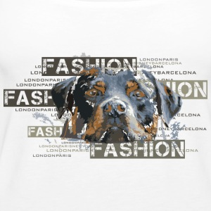 fashion-rottweiler-dog-an Tops - Vrouwen Premium tank top