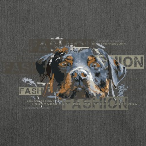 fashion-rottweiler-dog-an Bags & Backpacks - Shoulder Bag made from recycled material