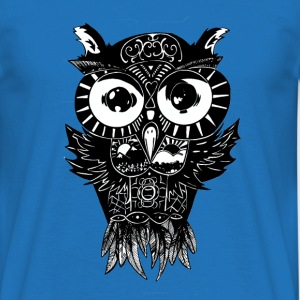 Dimension Owl - Men's t-shirt - Men's T-Shirt