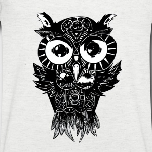 Dimension Owl - Men's V-neck - Men's V-Neck T-Shirt