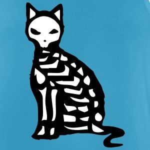 Skeleton and bones of a cat Sports wear - Men's Breathable Tank Top