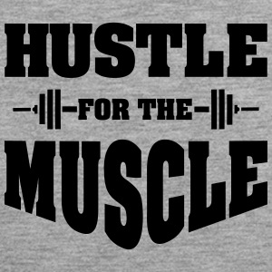 Hustle For The Muscle Tank Tops - Männer Premium Tank Top