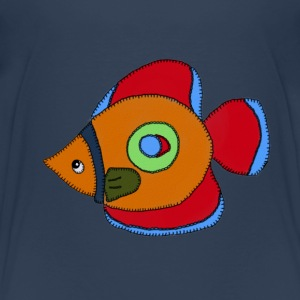 Bunter Fisch - Kinder Premium T-Shirt