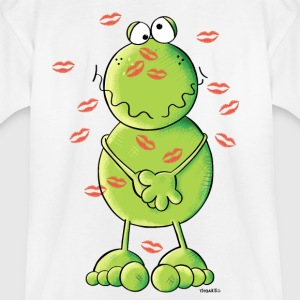 Frog Kiss Shirts - Teenage T-shirt