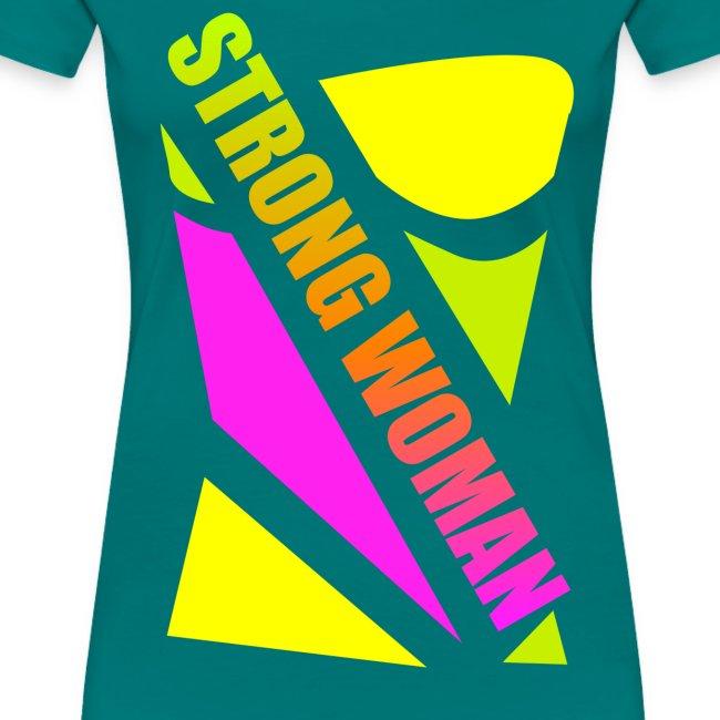 Strong woman - T-shirt, DAME