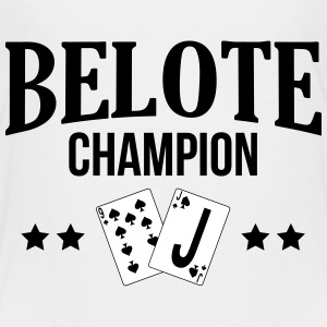 Jeu de cartes / Belote / Tarot / Rami / Poker Shirts - Teenage Premium T-Shirt