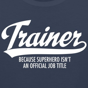 Trainer - Superhero Tank Tops - Men's Premium Tank Top