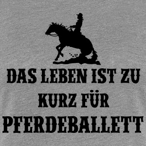 Pferdeballett Ladies - Frauen Premium T-Shirt