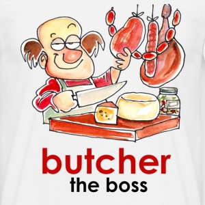 Butcher The Boss - Maglietta da uomo