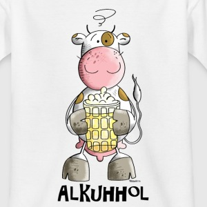 Alkuhhol T-Shirts - Teenager T-Shirt