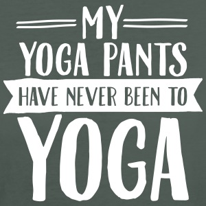 My Yoga Pants Have Never Been To Yoga T-Shirts - Women's Organic T-shirt