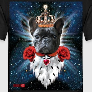 French Bully Französische Bulldogge the King - Männer T-Shirt