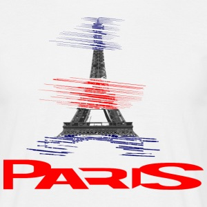 paris-eiffel-france T-shirts - Mannen T-shirt