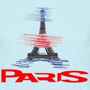 paris-eiffel-france T-shirts - T-shirt herr