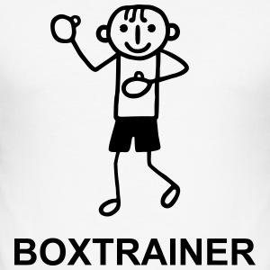 Boxtrainer T-Shirts - Men's Slim Fit T-Shirt