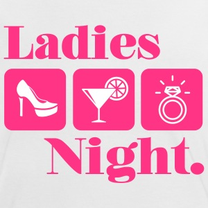 Ladies Night - Bridalshower - Team Braut T-Shirts - Frauen Kontrast-T-Shirt