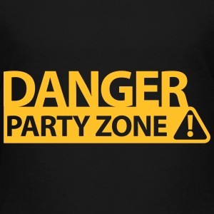 DANGER PARTY ZONE Shirts - Kids' Premium T-Shirt