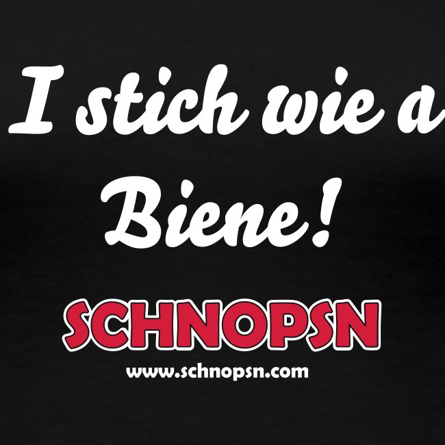 I stich wie a Biene Female