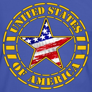usa star 3 Tee shirts - T-shirt contraste Homme