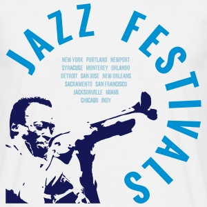 JAZZ FESTIVALS T-Shirts - Men's T-Shirt