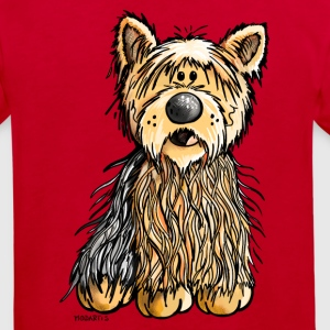 Yago the Yorkshire Terrier Shirts - Kids' Organic T-shirt