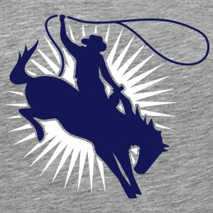 A cowboy at the rodeo T-Shirts - Men's Premium T-Shirt
