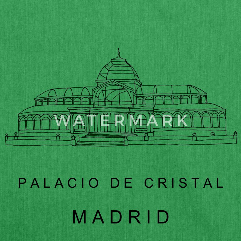 Madrid Crystal Palace Bags & Backpacks - Shoulder Bag made from recycled material