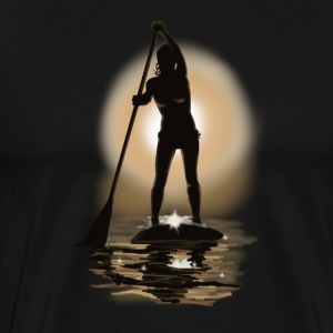 paddle boarding T-shirts - Mannen Premium T-shirt