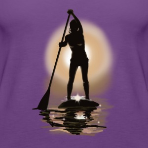 paddle boarding Tops - Women's Premium Tank Top