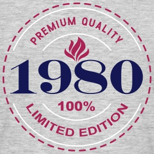 1980 PREMIUM QUALITY  ||  100% LIMITED EDITION T-Shirts - Men's T-Shirt