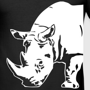 Black  Rhino T-Shirts - Men's Slim Fit T-Shirt